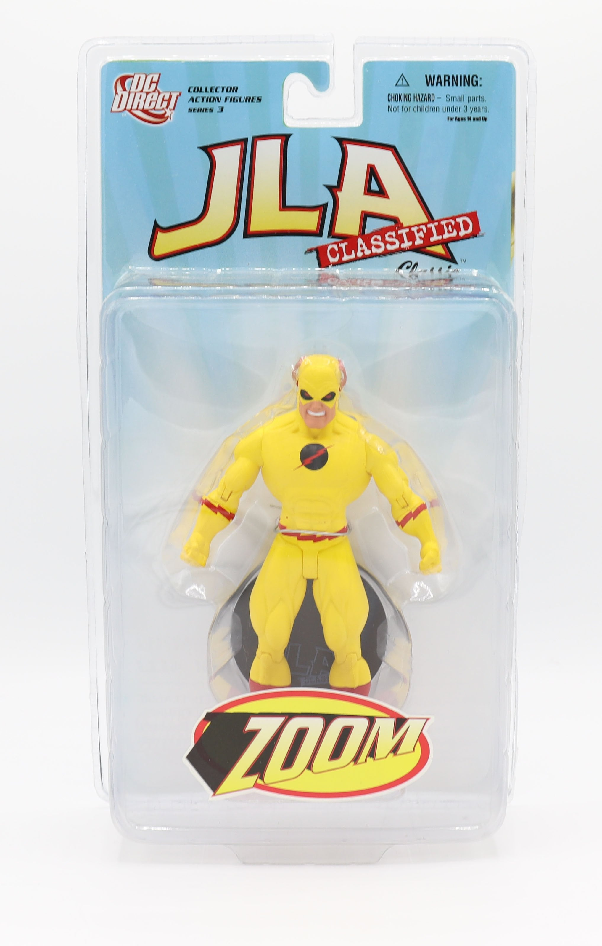 JLA CLASSIFIED SERIES 3 ZOOM ACTION FIGURE