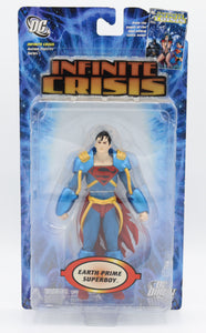 INFINITE CRISIS SERIES 1 EARTH PRIME SUPERBOY ACTION FIGURE