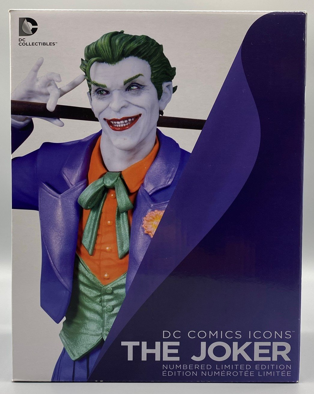 DC COMICS ICONS JOKER STATUE