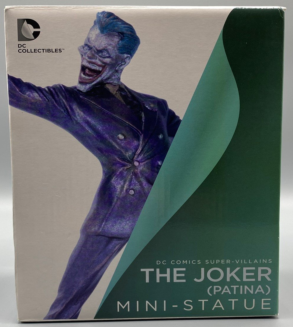 JOKER PATINA MINI STATUE