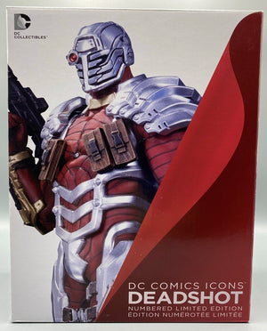 DC COMICS ICONS DEADSHOT STATUE
