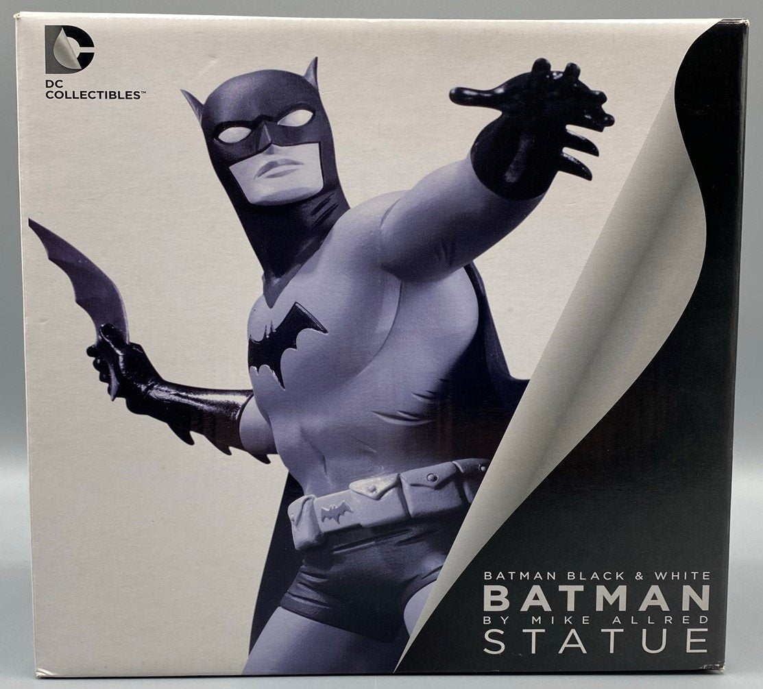 BATMAN BLACK & WHITE STATUE BY MIKE ALLRED