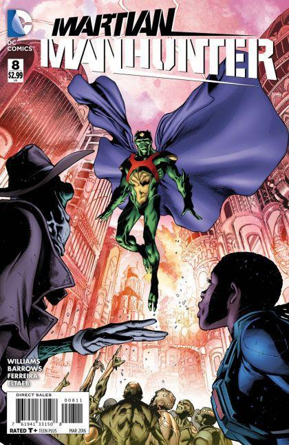 Martian Manhunter #8 A