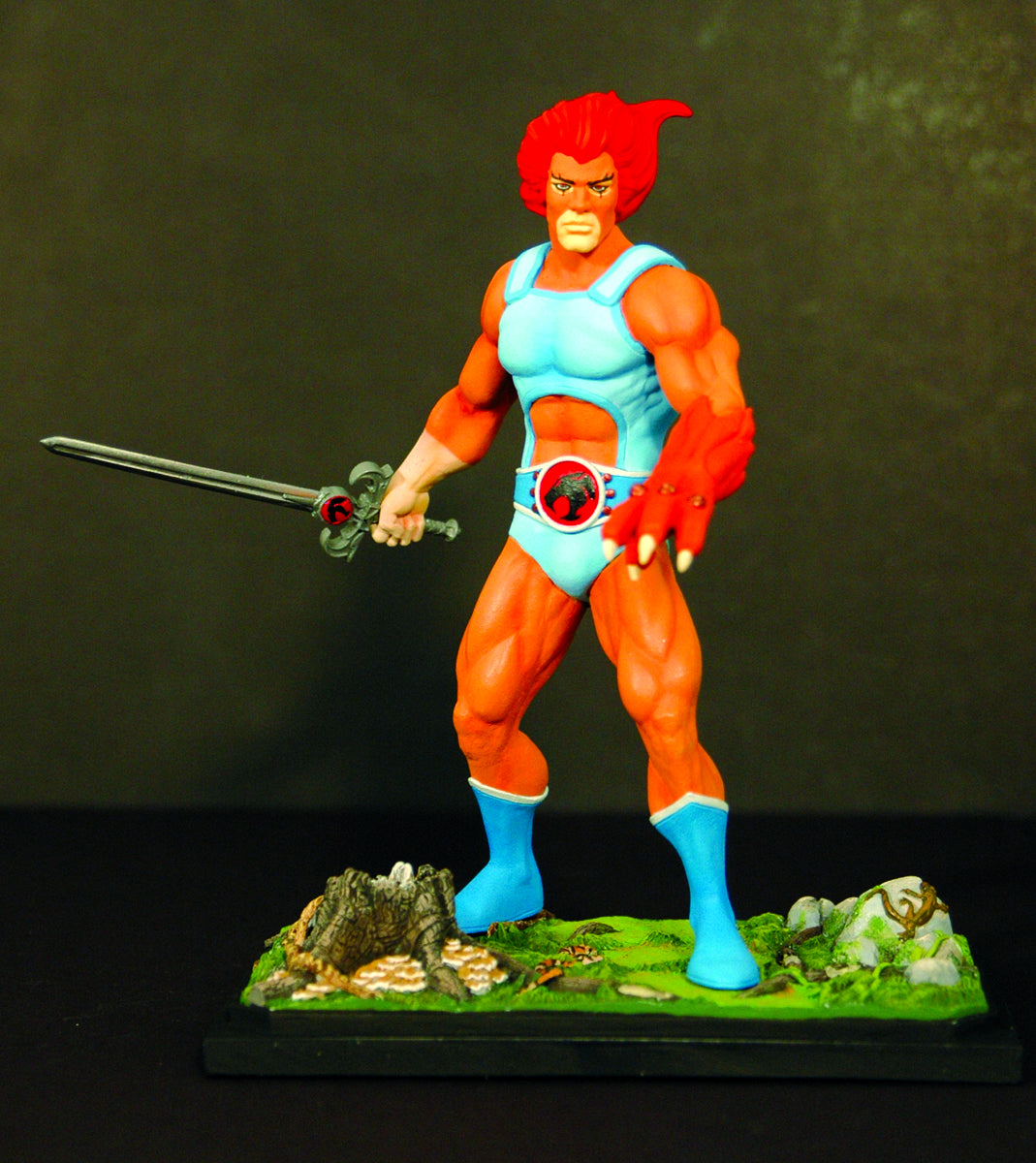THUNDERCATS LION-O MINI STATUE