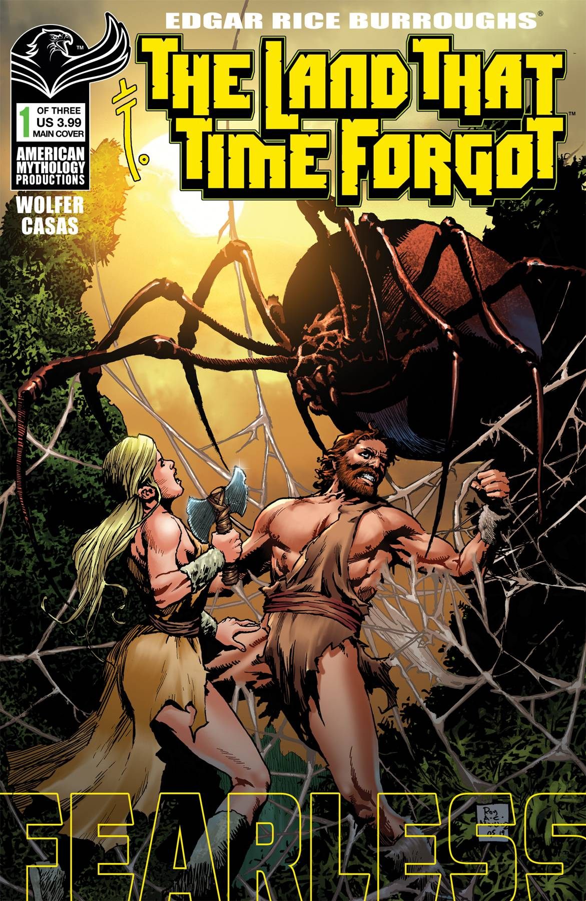 LAND THAT TIME FORGOT FEARLESS #1 CVR A MARTINEZ PRE-ORDER