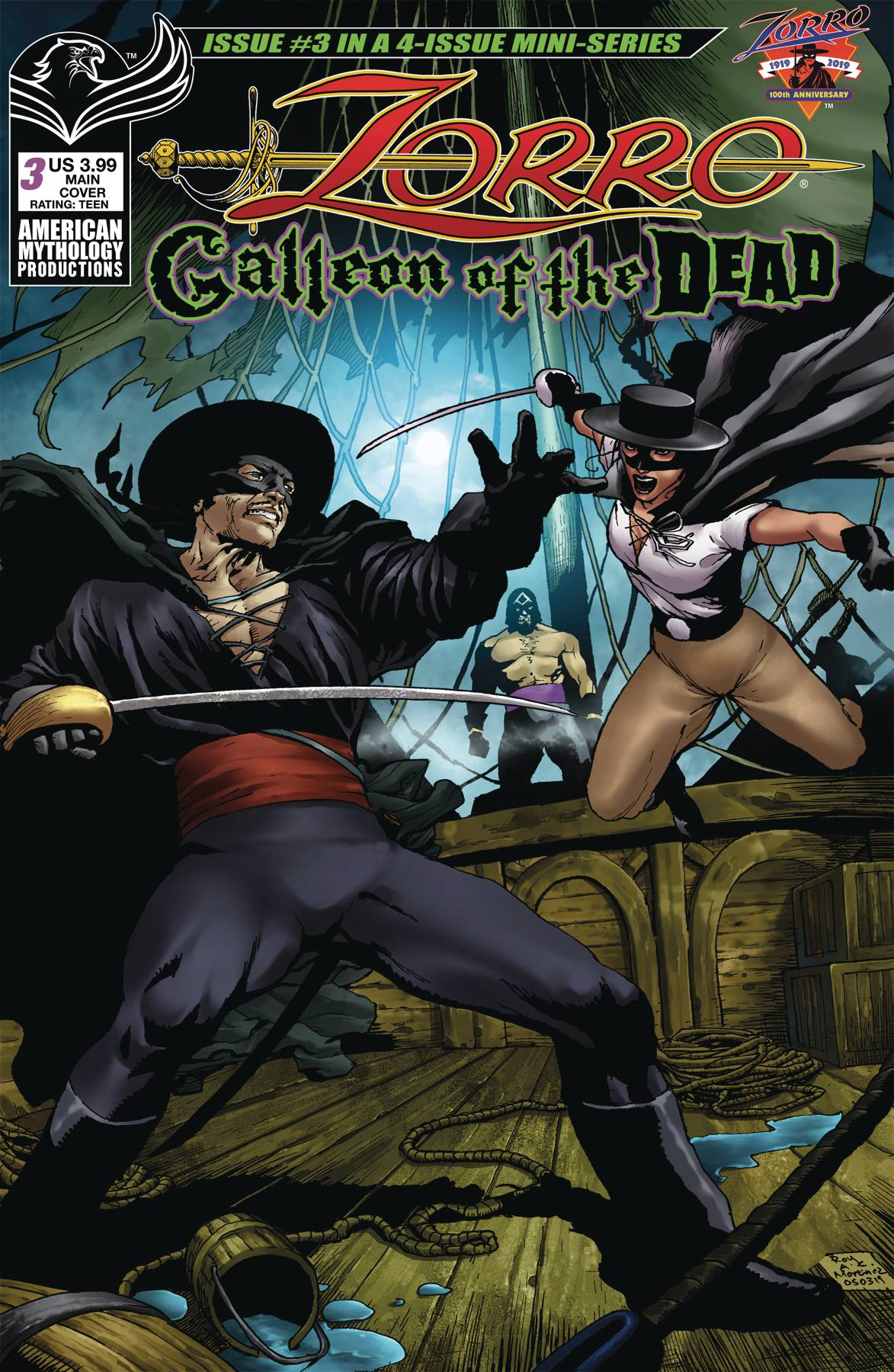 ZORRO GALLEON OF DEAD #3 CVR A MARTINEZ PRE-ORDER