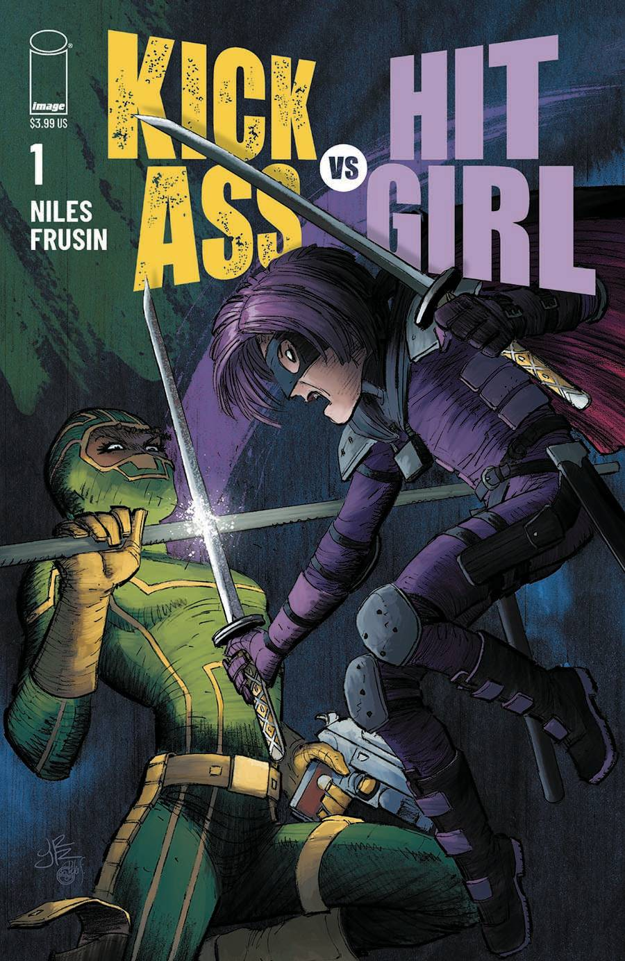 KICK-ASS VS HIT-GIRL #1 (OF 5) CVR A ROMITA JR  PRE-ORDER