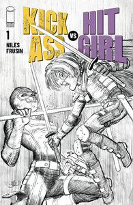 KICK-ASS VS HIT-GIRL #1 (OF 5) CVR B ROMITA JR  PRE-ORDER