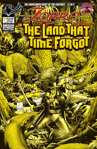 ZORRO IN LAND THAT TIME FORGOT #2 CVR B LTD ED  RANALDI PRE-ORDER