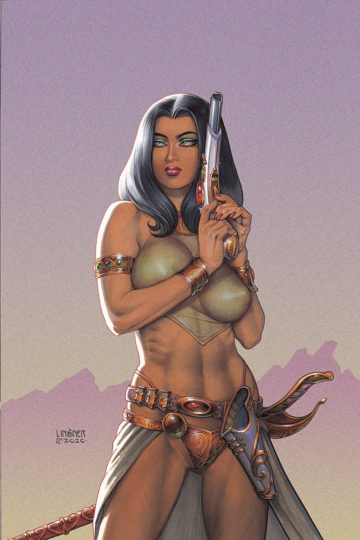 DEJAH THORIS (2019) #10 LINSNER LTD VIRGIN CVR PRE-ORDER