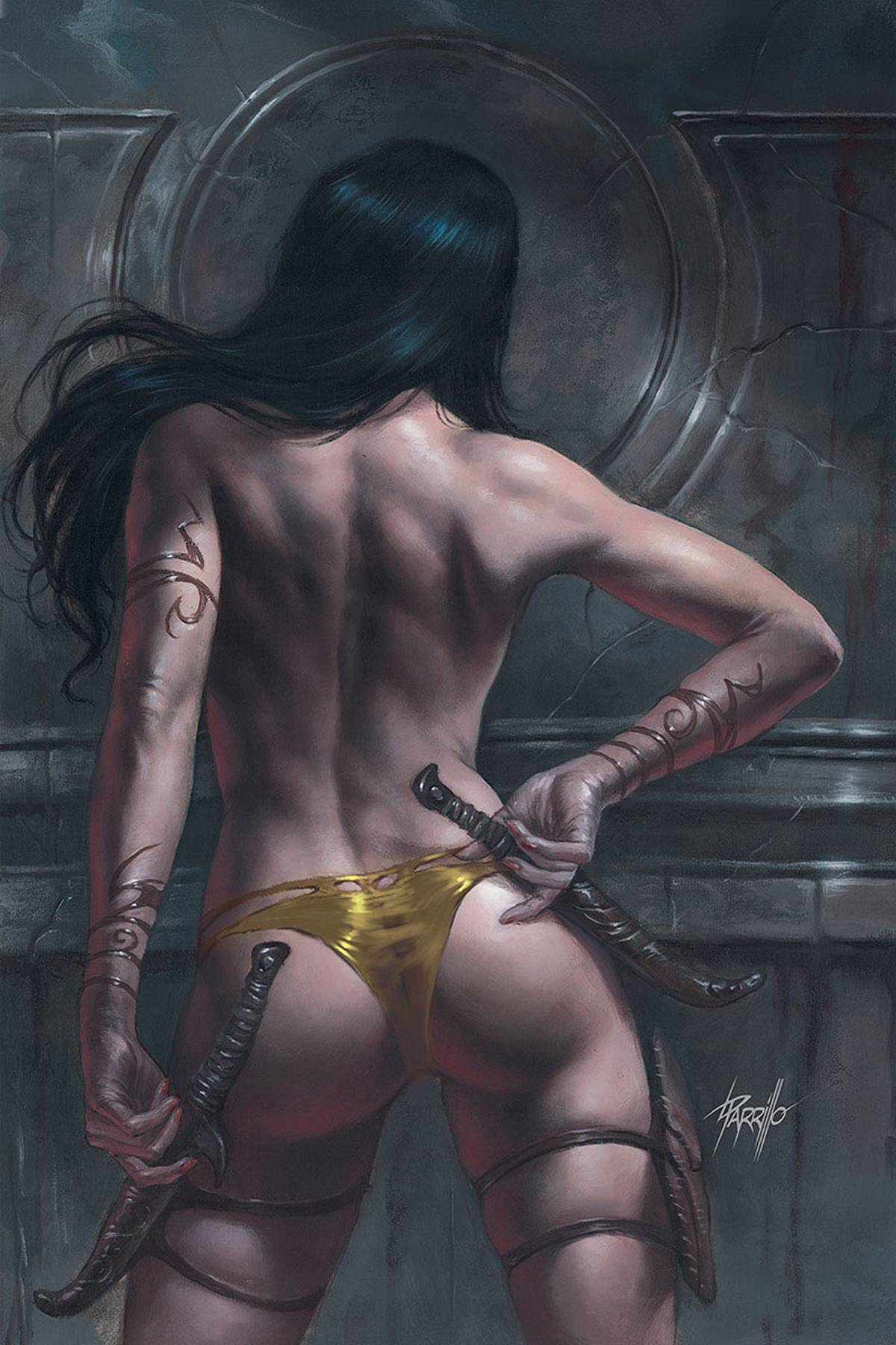 DEJAH THORIS (2019) #10 PARRILLO LTD VIRGIN CVR PRE-ORDER