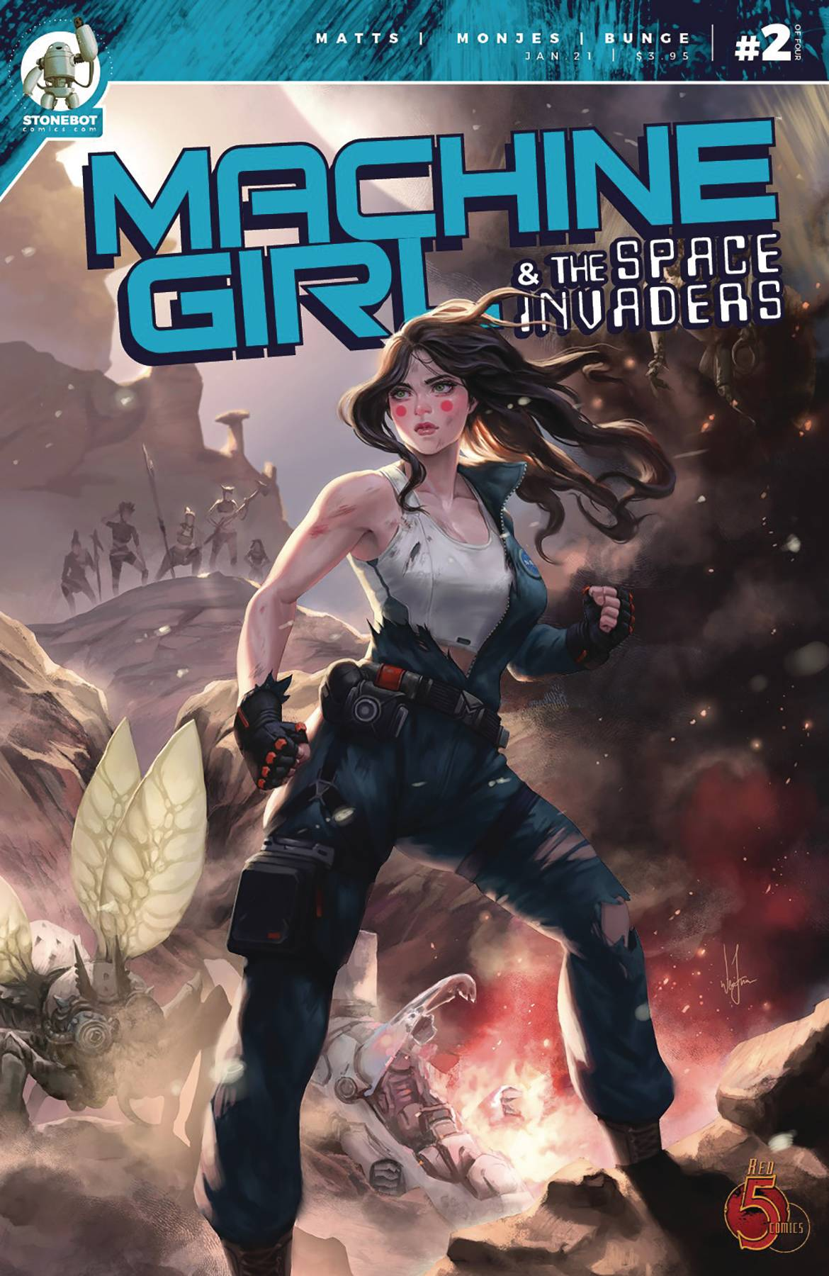 MACHINE GIRL & SPACE INVADERS #2  PRE-ORDER