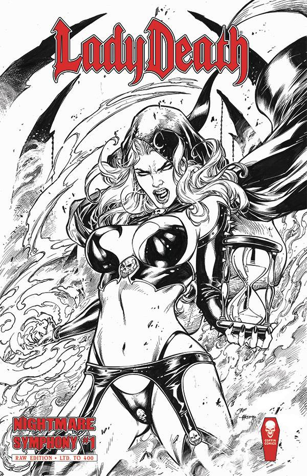 LADY DEATH SCORCHED EARTH #1 (OF 2) RAW ED  PRE-ORDER