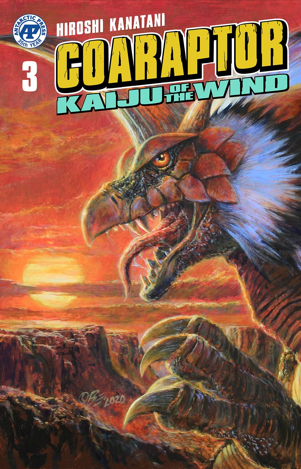 COARAPTOR ONE SHOT KAIJU OF THE WIND PRE-ORDER