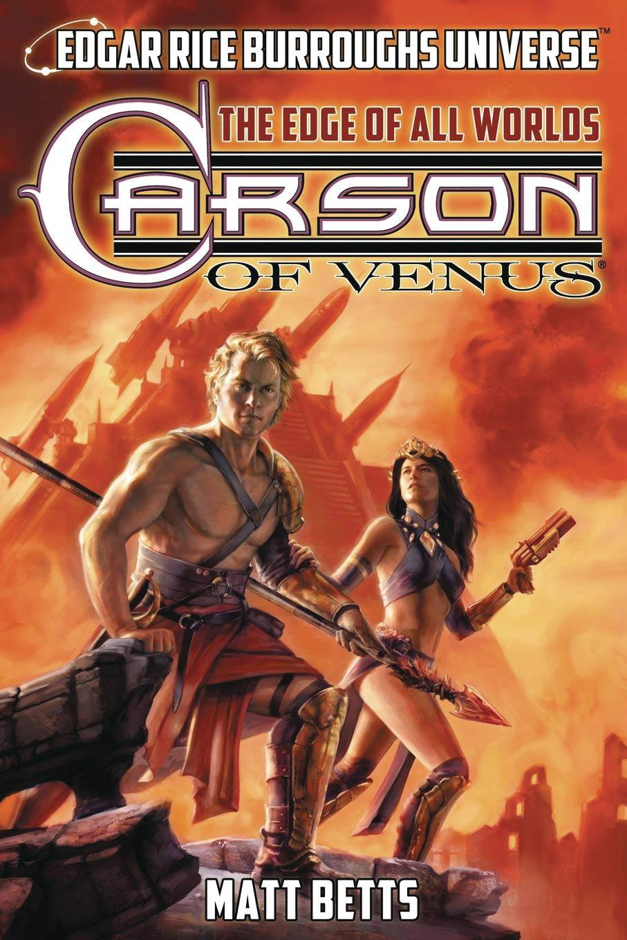 ERB UNIVERSE NOVEL SC VOL 01 CARSON OF VENUS EDGE ALL WORLDS PRE-ORDER