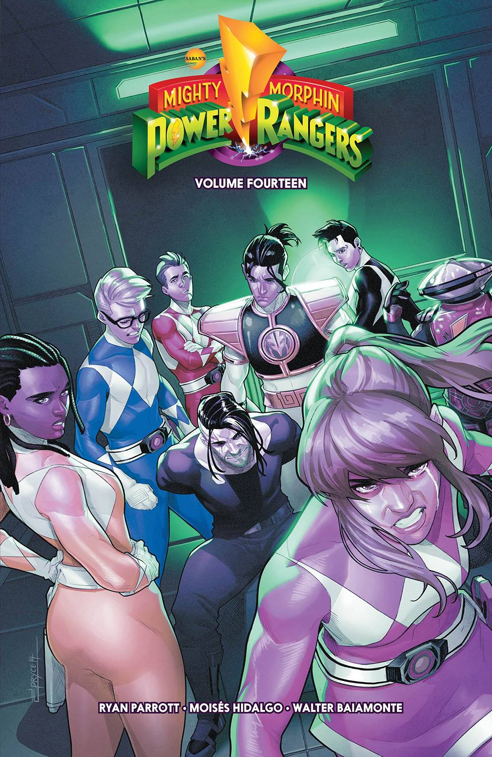 MIGHTY MORPHIN POWER RANGERS TP VOL 14  PRE-ORDER
