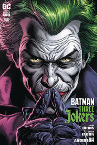 DF BATMAN THREE JOKERS #2 JOHNS SGN  PRE-ORDER