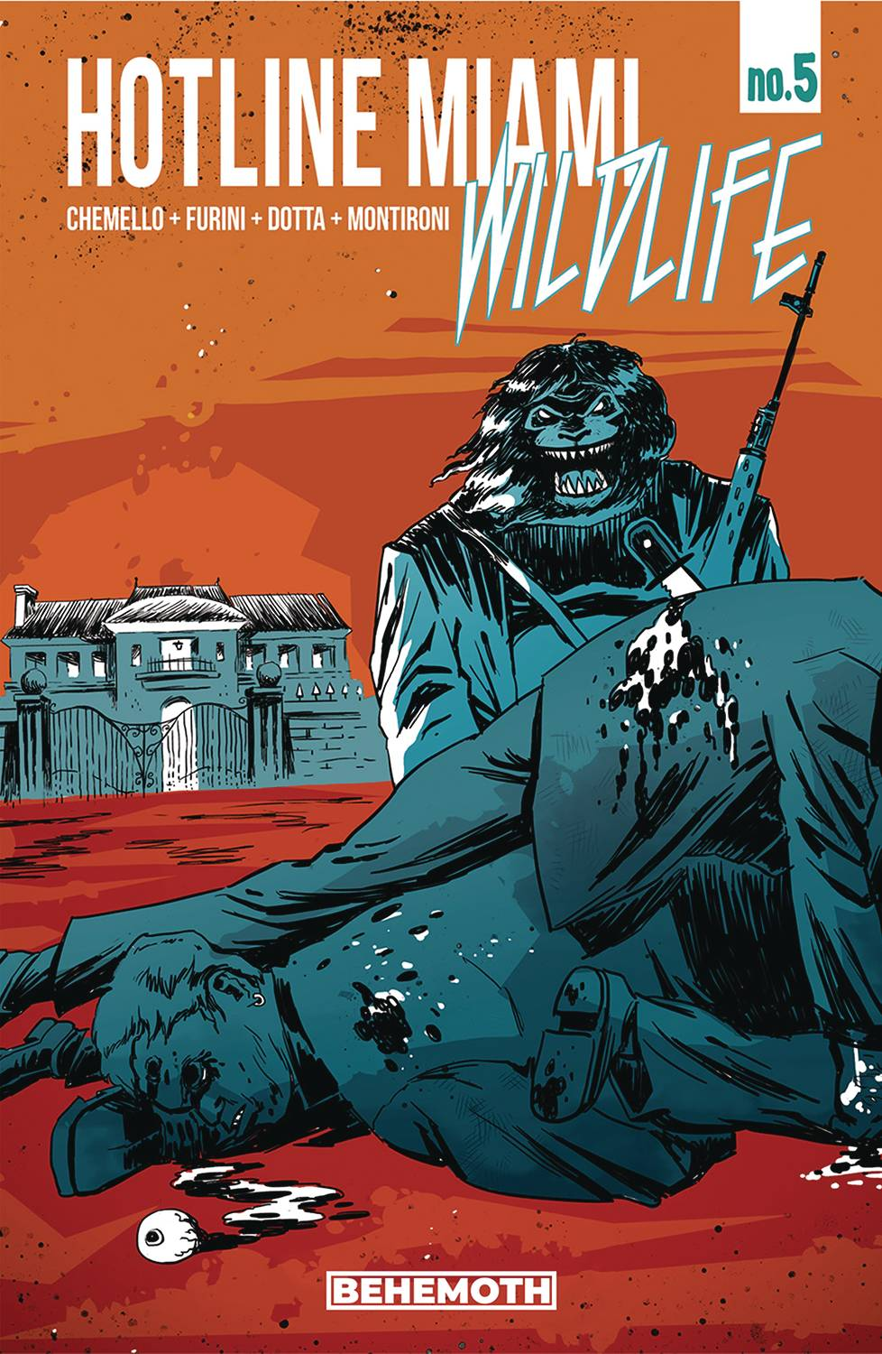 HOTLINE MIAMI WILDLIFE #5 (OF 8)  PRE-ORDER