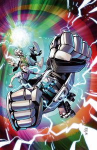 TRANSFORMERS BACK TO FUTURE #4 (OF 4) CVR A JUAN SAMU PRE-ORDER