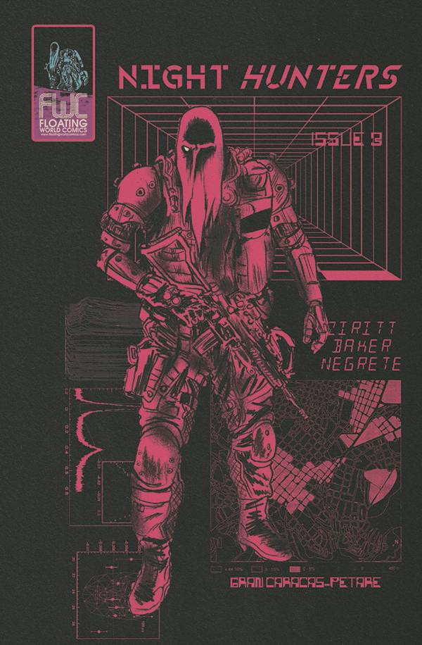 NIGHT HUNTERS #3 (OF 4) PRE-ORDER