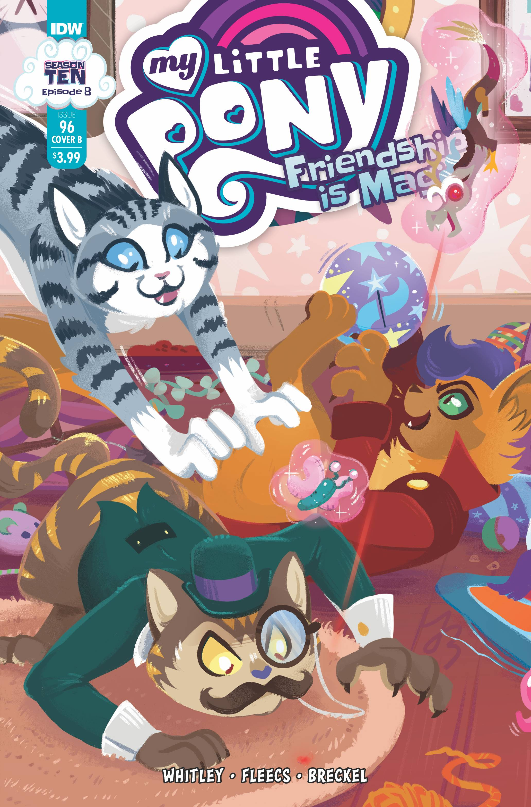 MY LITTLE PONY FRIENDSHIP IS MAGIC #96 CVR B JUSTASUTA  PRE-ORDER