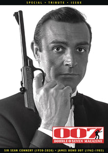 007 MAGAZINE SIE SEAN CONNERY TRIBUTE SPECIAL  PRE-ORDER
