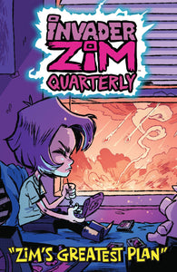 INVADER ZIM QUARTERLY ZIMS GREATEST PLAN #1 CVR B CAB PRE-ORDER