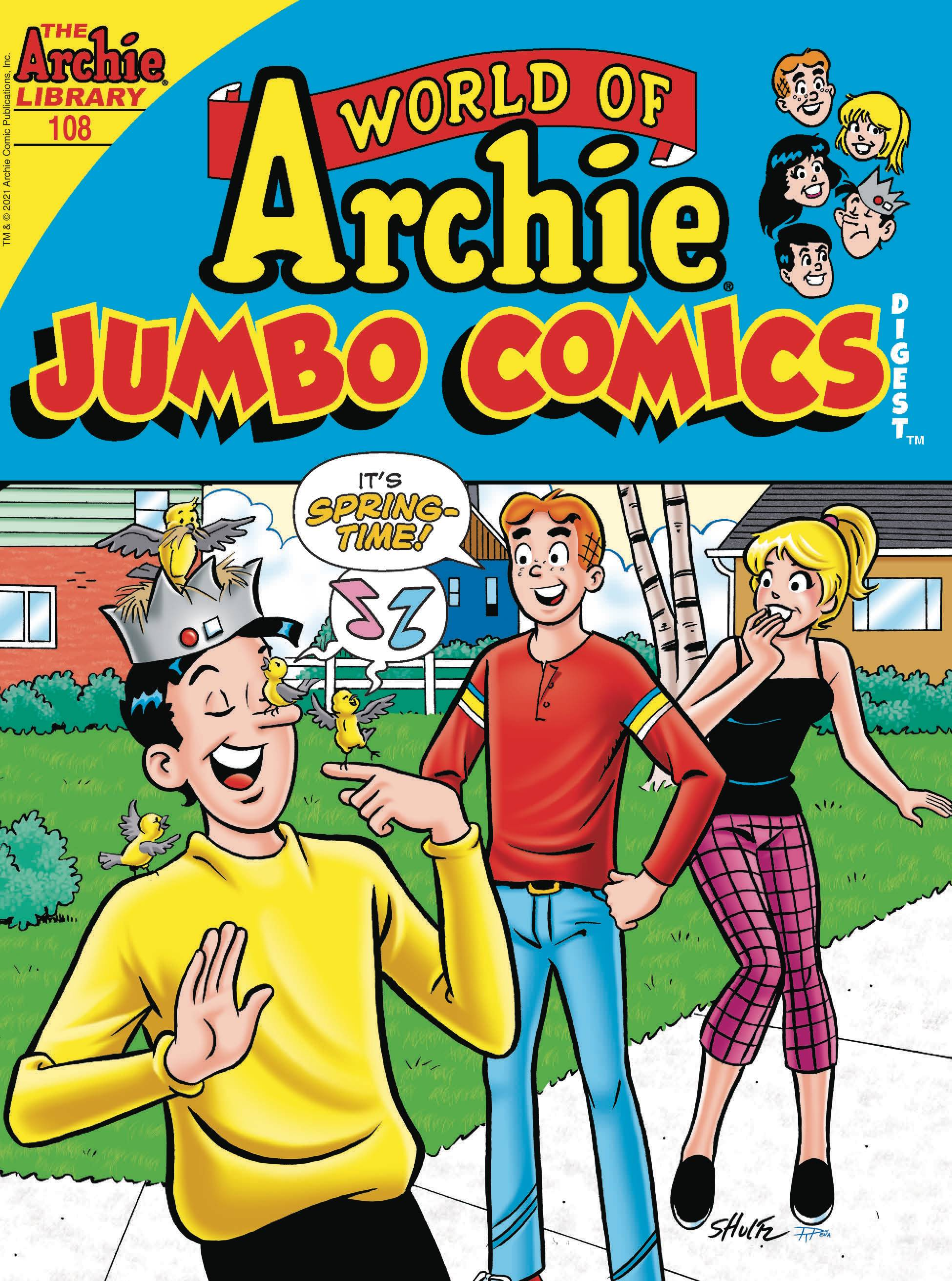 WORLD OF ARCHIE JUMBO COMICS DIGEST #108 PRE-ORDER