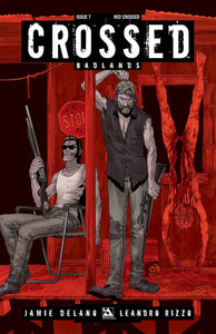 CROSSED BADLANDS #7 RED CROSSED VAR  PRE-ORDER