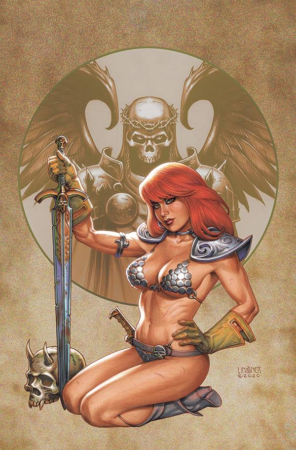 RED SONJA #26 LINSNER LTD VIRGIN CVR PRE-ORDER
