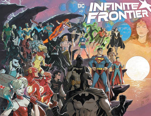 DF INFINITE FRONTIER #1 WILLIAMSON SGN PRE-ORDER
