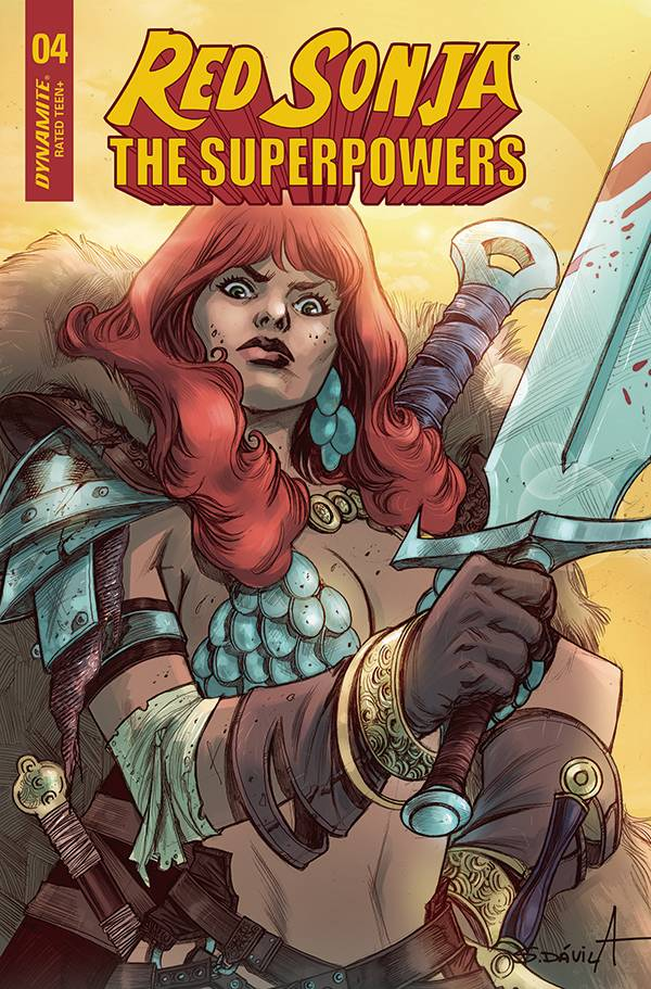 RED SONJA THE SUPERPOWERS #4 CVR G DAVILA PRE-ORDER