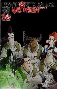 Ghostbusters #20 A