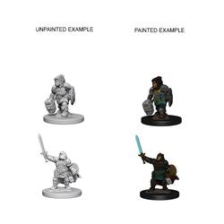DUNGEONS AND DRAGONS: NOLZUR'S MARVELOUS UNPAINTED MINIATURES -W3-FEMALE DWARF PALADIN