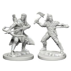 DUNGEONS AND DRAGONS: NOLZUR'S MARVELOUS UNPAINTED MINIATURES -W1-MALE HUMAN RANGER