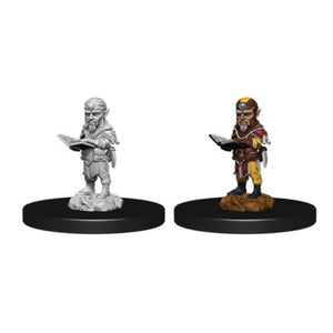 PATHFINDER: DEEP CUTS UNPAINTED MINIATURES -W9-MALE GNOME SORCERER