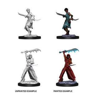 DUNGEONS AND DRAGONS: NOLZUR'S MARVELOUS UNPAINTED MINIATURES -W10-FEMALE HUMAN ROGUE