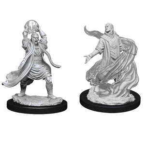 DUNGEONS AND DRAGONS: NOLZUR'S MARVELOUS UNPAINTED MINIATURES -W11-MALE ELF SORCERER