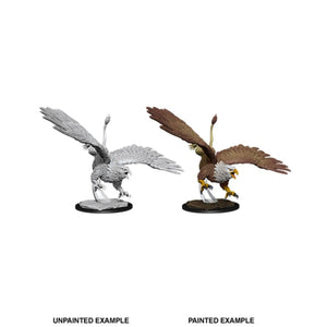 DUNGEONS AND DRAGONS: NOLZUR'S MARVELOUS UNPAINTED MINIATURES: W12 DIVING GRIFFON