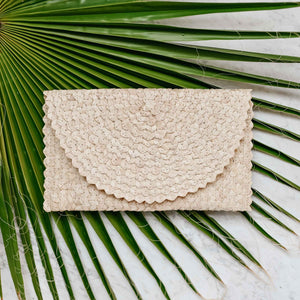Handwoven Clutch (Stone) - Stokedthebrand. Lifestyle products for outdoor adventures. Made in South Africa