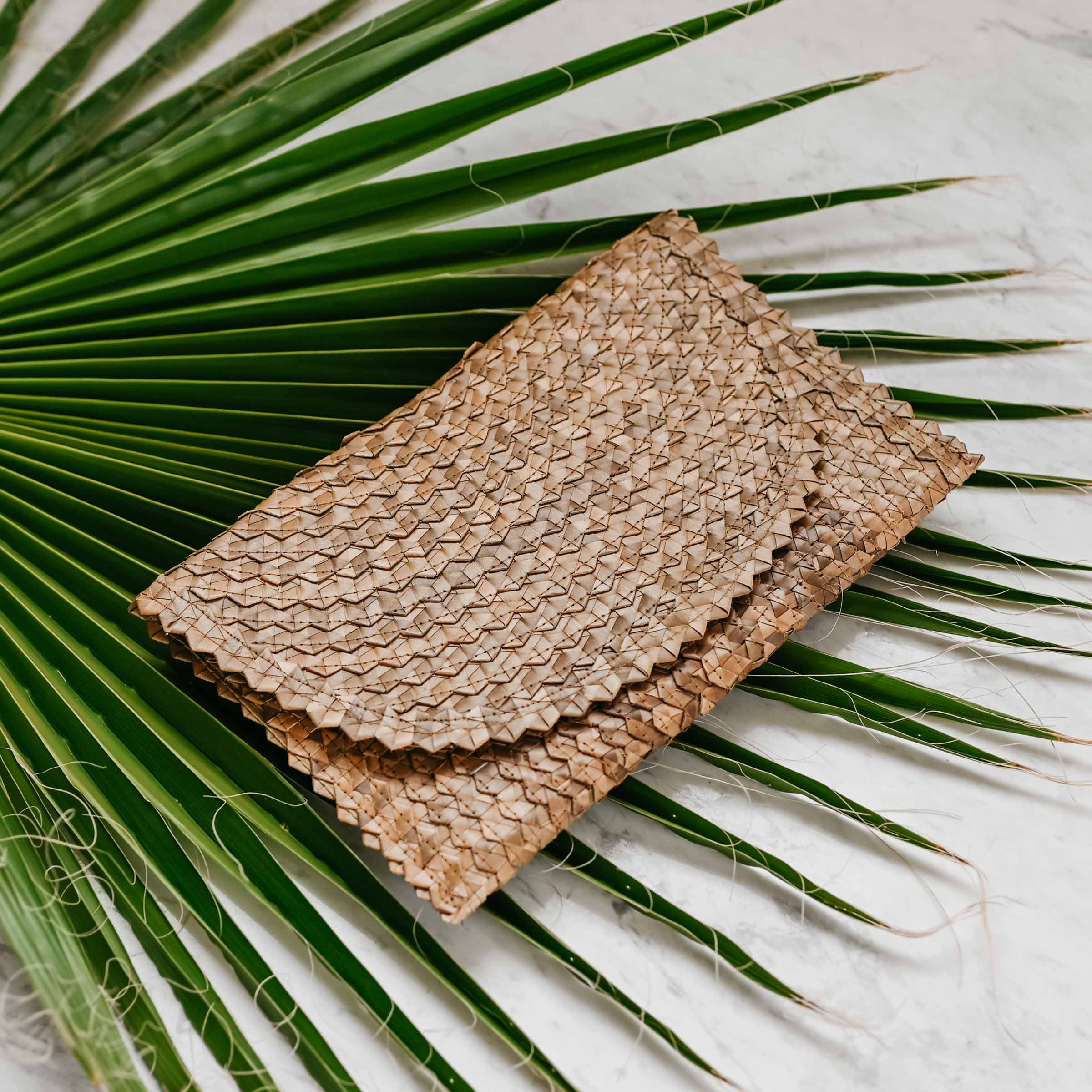 Handwoven Clutch (Sand) - Stokedthebrand. Lifestyle products for outdoor adventures. Made in South Africa