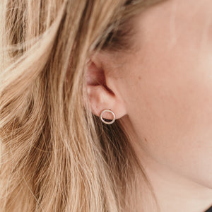 Minimal Range • Small Round Earrings - Stokedthebrand. Lifestyle products for outdoor adventures. Made in South Africa