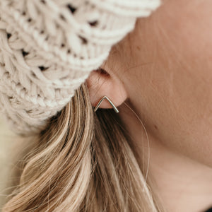 Minimal Range • Arrow Earrings - Stokedthebrand. Lifestyle products for outdoor adventures. Made in South Africa