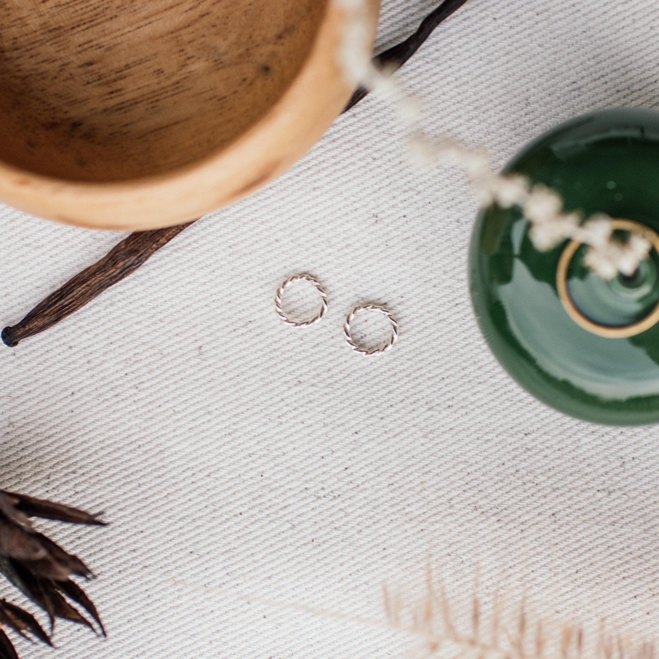 Minimal Range • Rope Earrings - Stokedthebrand. Lifestyle products for outdoor adventures. Made in South Africa
