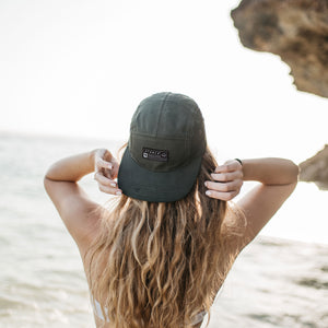 The Overland 5-Panel Cap (Mountain Green) - Stokedthebrand. Lifestyle products for outdoor adventures. Made in South Africa
