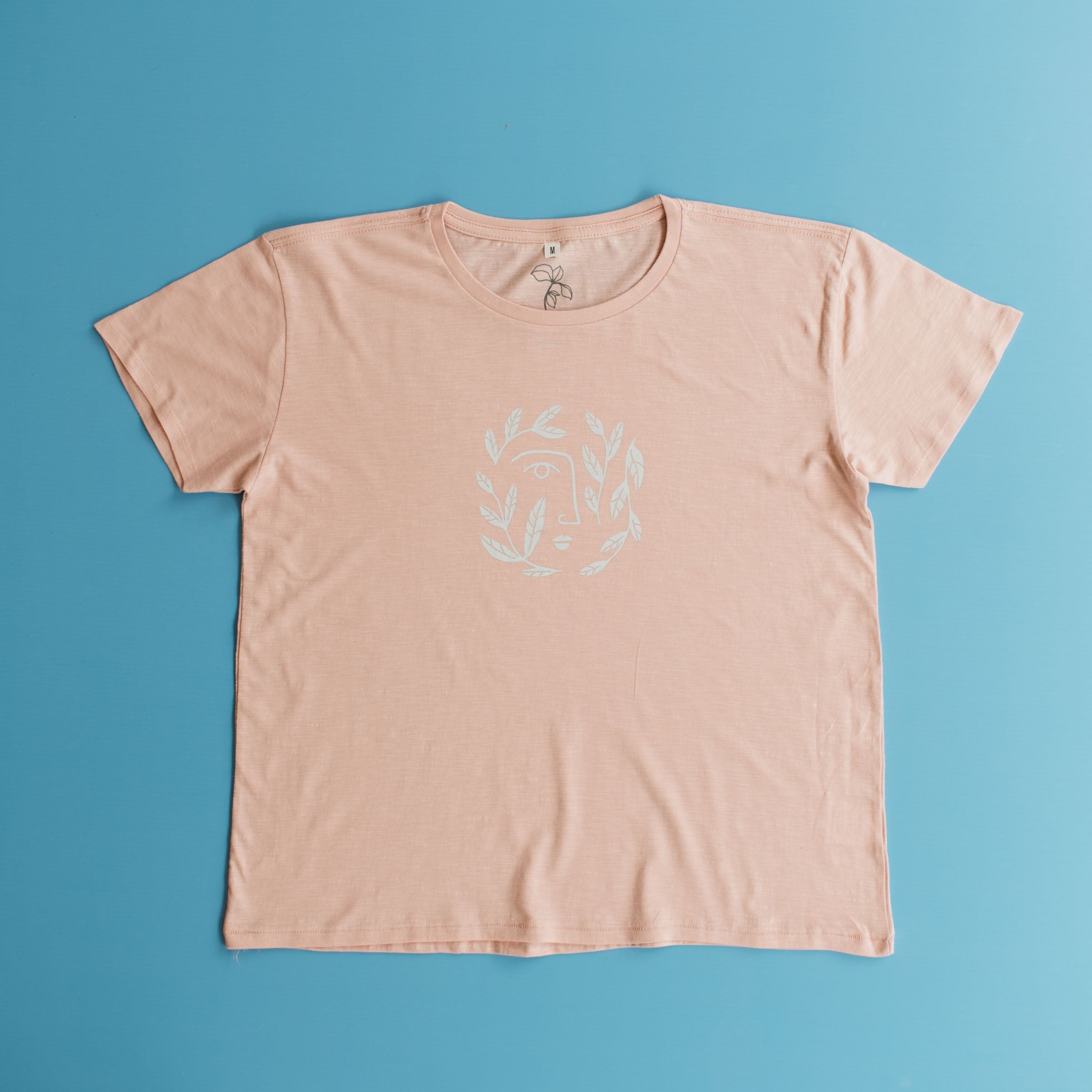 Ladies Coral Pink T-Shirt - Stokedthebrand. Lifestyle products for outdoor adventures. Made in South Africa