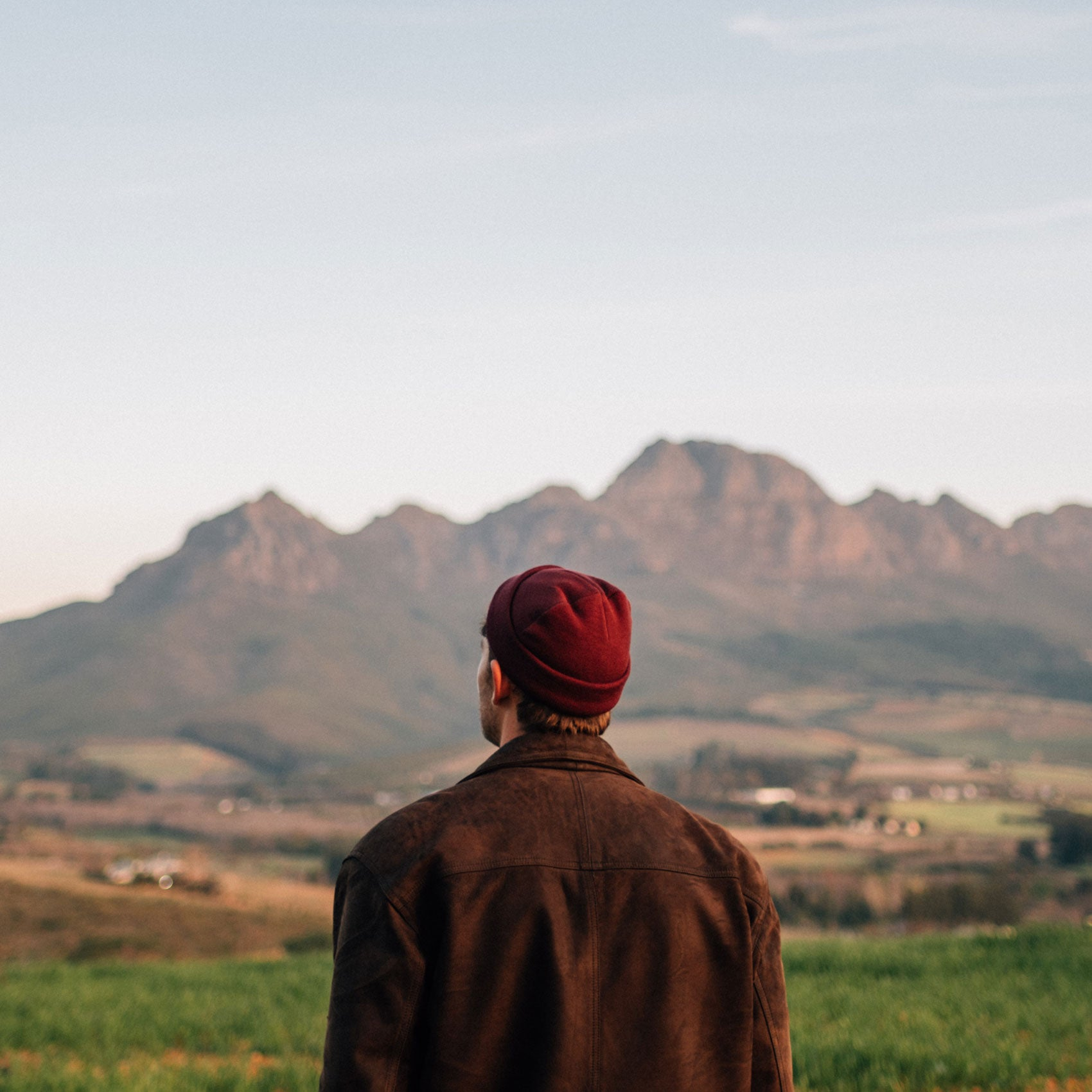 The Maroon Sunset Beanie - Stokedthebrand. Lifestyle products for outdoor adventures. Made in South Africa