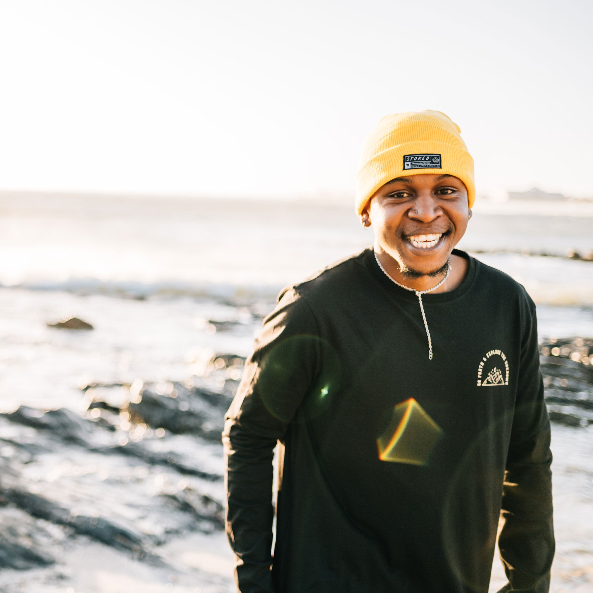 The Seaside Beanie - Stokedthebrand. Lifestyle products for outdoor adventures. Made in South Africa