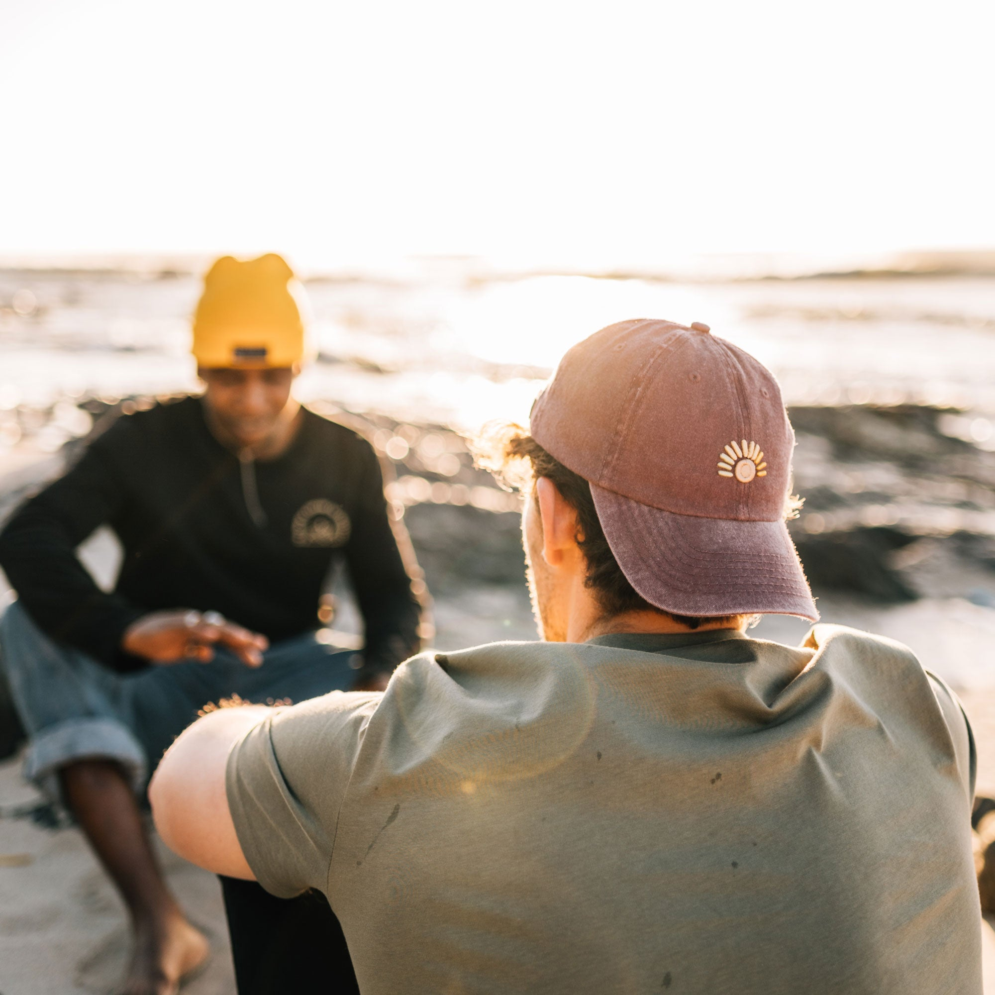 The Maroon Sunset Cap - Stokedthebrand. Lifestyle products for outdoor adventures. Made in South Africa