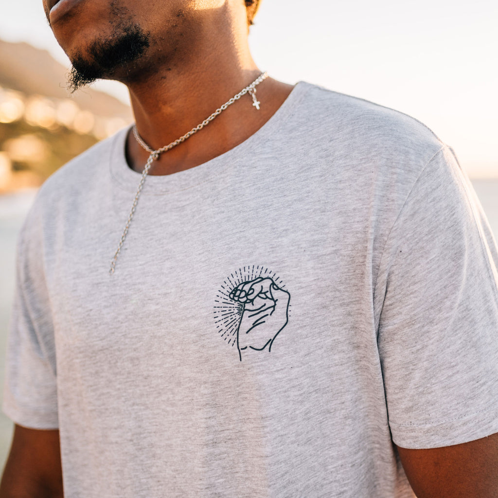 Grey Barrel Time T-Shirt - Stokedthebrand. Lifestyle products for outdoor adventures. Made in South Africa
